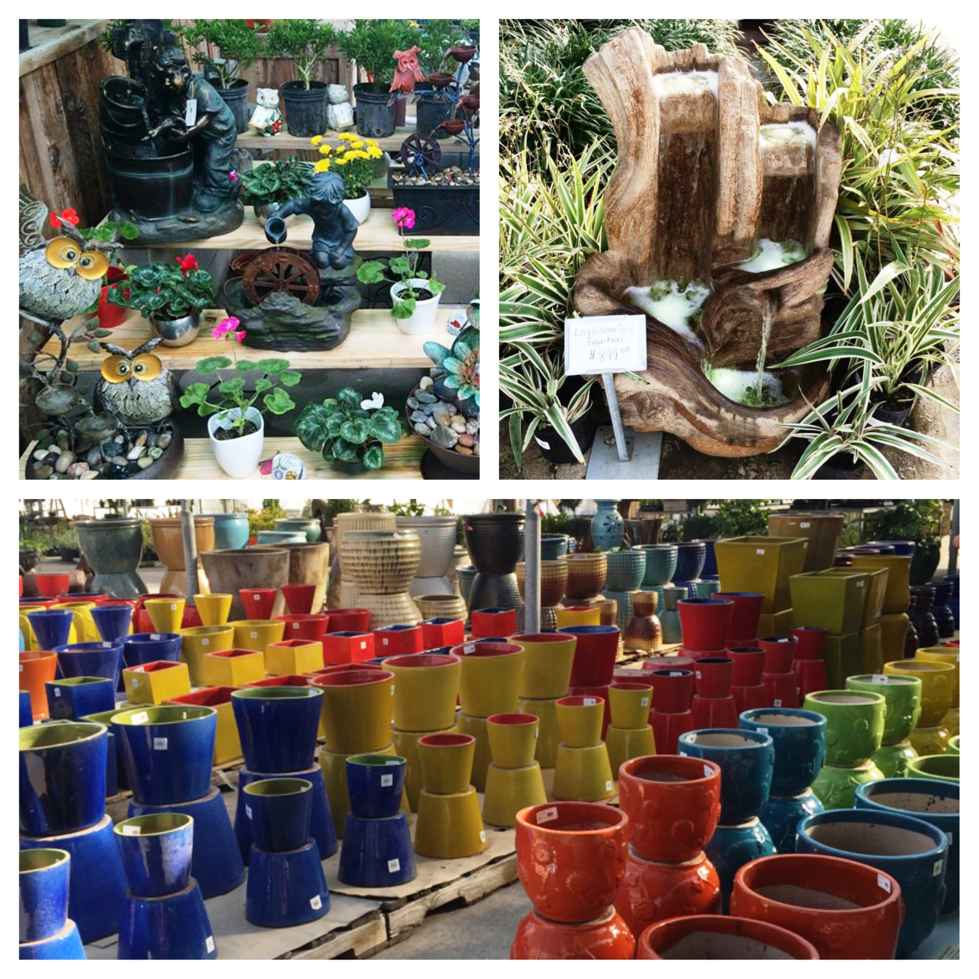 Pottery And Fountains